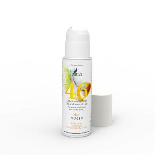 Бальзам-кондиционер №46 для сухого и нормального типа волос SATIVA