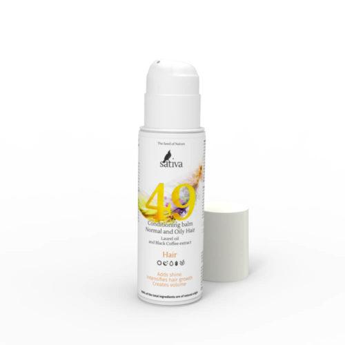 Бальзам-кондиционер №49 для нормального и жирного типа волос SATIVA