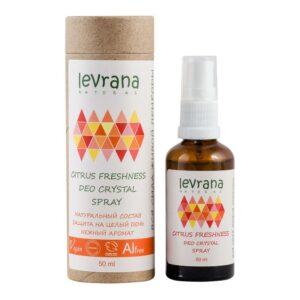 Дезодорант Цитрусовая свежесть LEVRANA