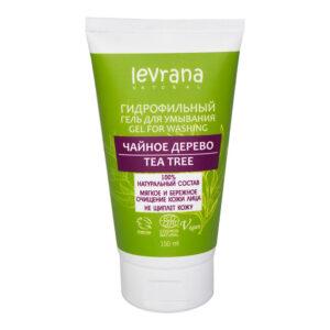 Гидрофильный гель для умывания Чайное дерево LEVRANA