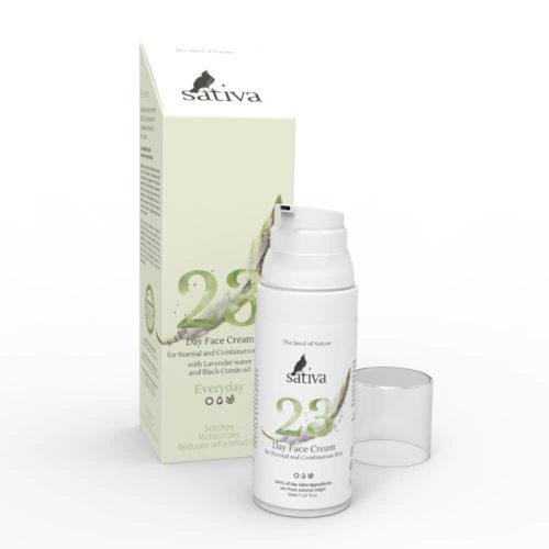 Крем для нормальной и комбинированной кожи №23 SATIVA