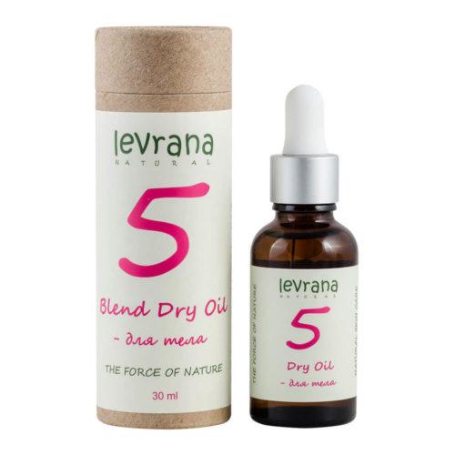Сухое масло для тела 5 LEVRANA