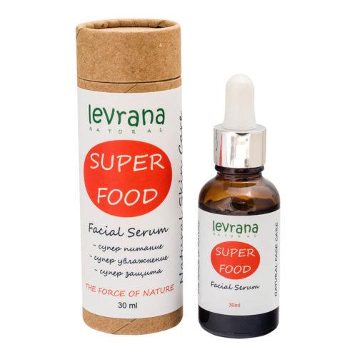 Сыворотка для лица Super food LEVRANA