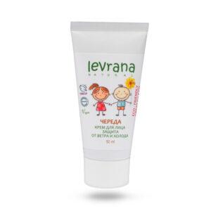 Детский защитный крем для лица Череда LEVRANA