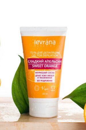 Гель для депиляции Сладкий апельсин LEVRANA