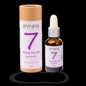 Сухое масло 7 для волос LEVRANA