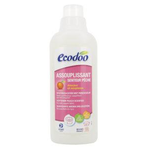 Кондиционер для белья с ароматом персика ECODOO, 750мл