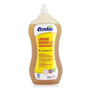 Средство для мытья посуды с уксусом ECODOO, 1л