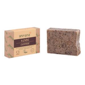 Натуральное мыло Кофе LEVRANA