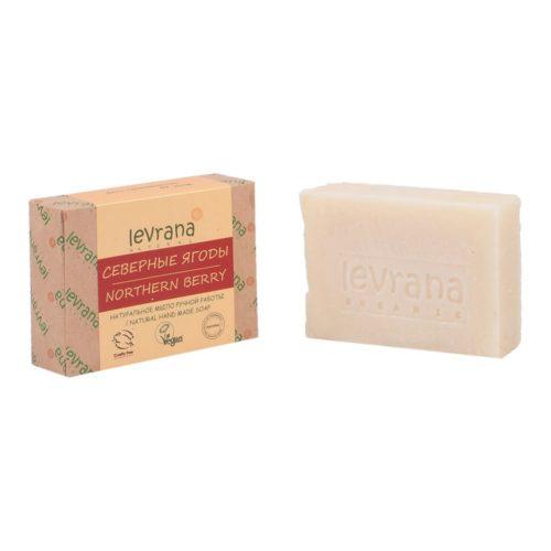 Натуральное мыло Северные ягоды LEVRANA