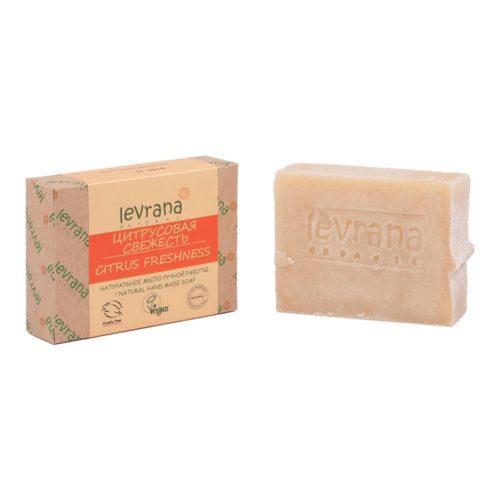 Натуральное мыло Цитрусовая свежесть LEVRANA