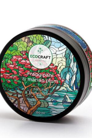 Крем для тела Франжипани и марианская слива ECOCRAFT