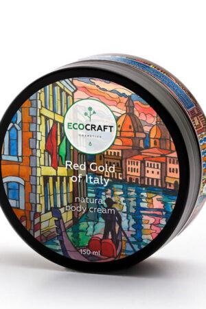 Крем для тела Красное золото Италии ECOCRAFT