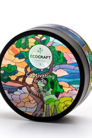 Маска для роста волос Пленительный уд ECOCRAFT