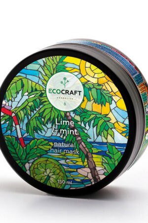 Маска для укрепления волос Лайм и мята ECOCRAFT