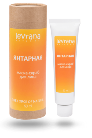 maska skrab dlya licza yantarnaya levrana 1 e1612915968409 300x450 - Bidens Tripartita Extract