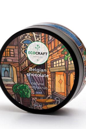 Скраб для тела Бельгийский шоколад ECOCRAFT