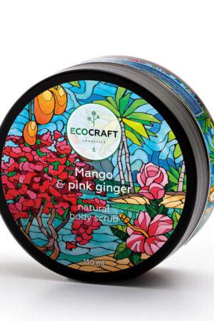 Скраб для тела Манго и розовый имбирь ECOCRAFT
