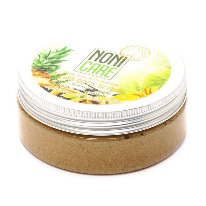 Saharnyiy skrab dlya tela c AHA   kislotami1 700x700 - Сахарный скраб для тела c AHA–кислотами NONICARE (годен до 07.20)