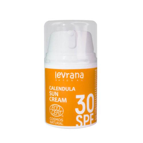 Солнцезащитный крем Календула SPF30 LEVRANA, 50 мл