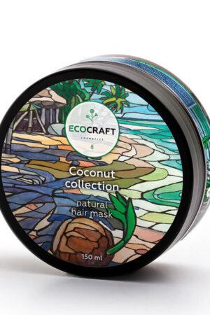 Маска для волос Кокосовая коллекция ECOCRAFT