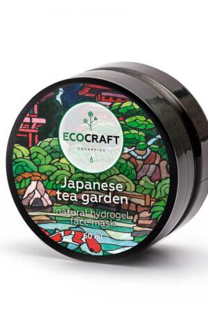Маска гидрогелевая для лица суперувлажняющая Японский чайный сад ECOCRAFT
