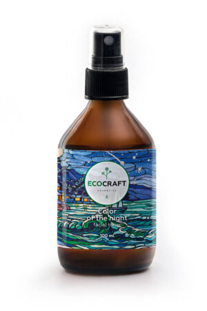 Тоник для нормальной кожи Цвет ночи ECOCRAFT