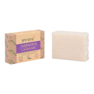 Натуральное мыло Лаванда LEVRANA