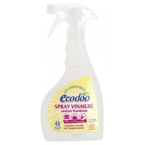 Экологический хозяйственный уксус с ароматом малины для уборки ECODOO