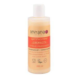 Кондиционер для сухих волос Цитрусовая свежесть LEVRANA