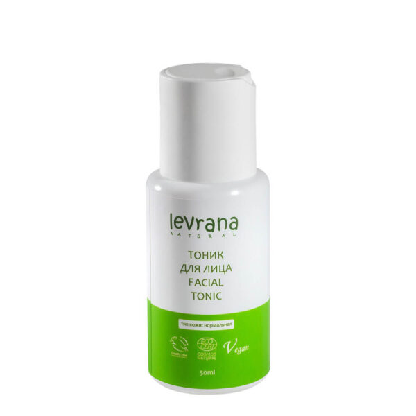 Тоник для нормальной кожи лица LEVRANA, 50 мл
