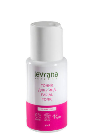 Тоник для сухой кожи лица LEVRANA, 50 мл