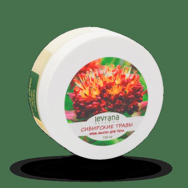 Крем-масло Сибирские травы LEVRANA