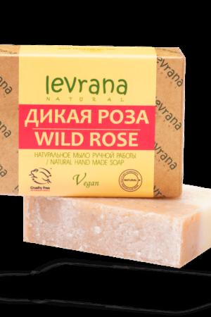 Натуральное мыло Дикая роза LEVRANA