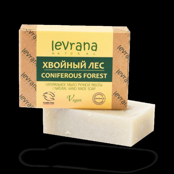 Натуральное мыло Хвойный лес LEVRANA