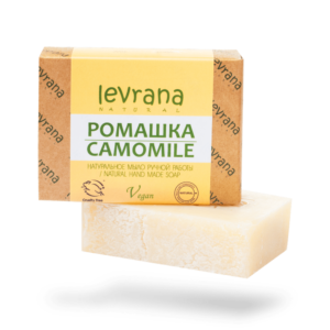 Натуральное мыло Ромашка LEVRANA