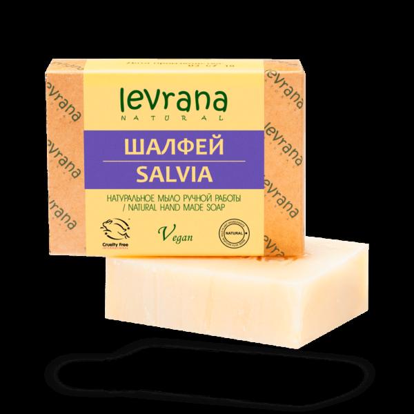Натуральное мыло Шалфей LEVRANA