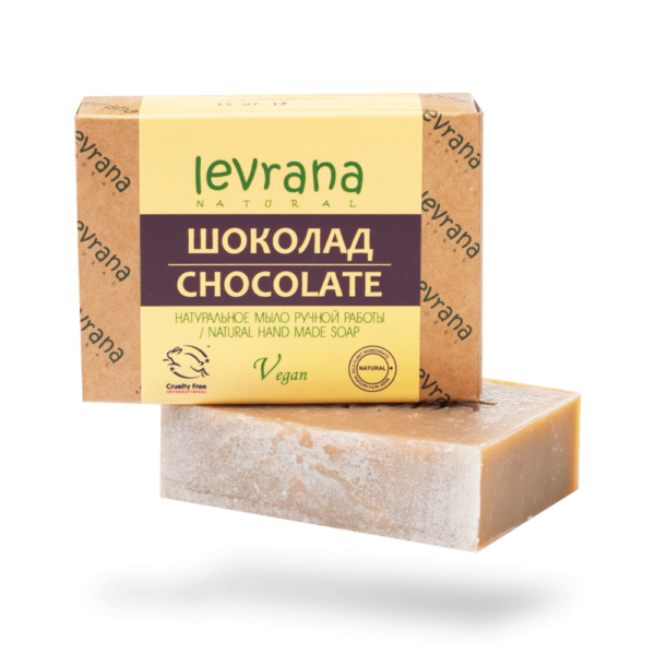 Натуральное мыло Шоколад LEVRANA
