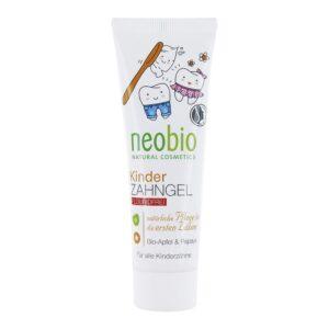 Гелевая зубная паста без фтора для детей NEOBIO