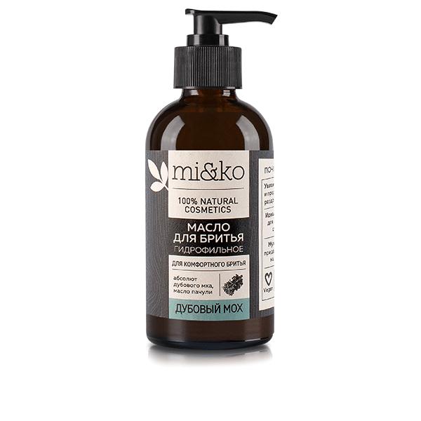 Гидрофильное масло для бритья Дубовый мох МИКО