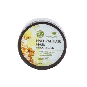 Маска для волос с АНА-кислотами Разглаживающая ORGANIC ZONE
