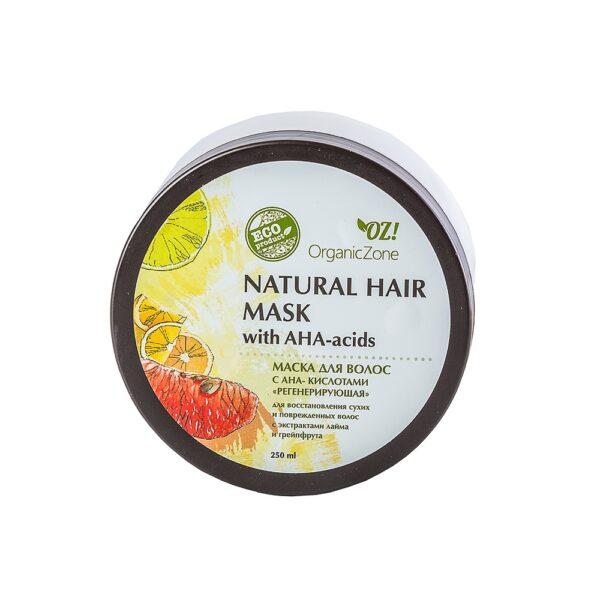 Маска для волос с АНА-кислотами Регенерирующая ORGANIC ZONE