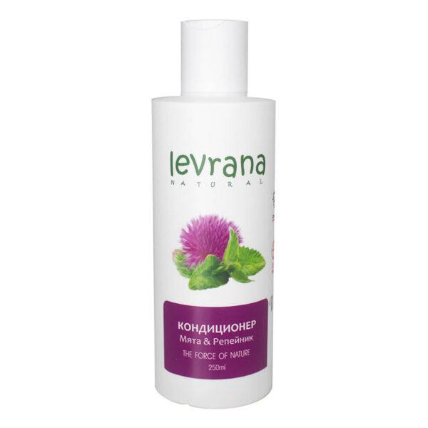 Кондиционер для волос Мята и репейник LEVRANA (годен до 12.09.21)