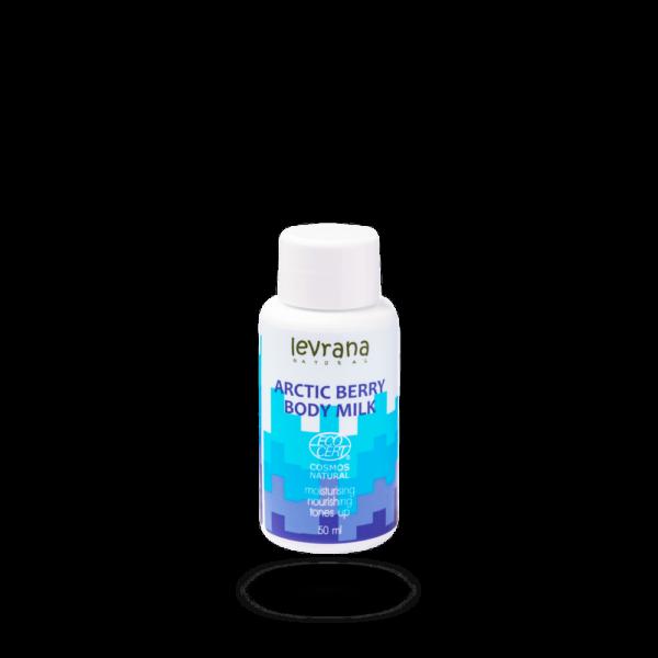 Молочко для тела Арктическая ягода LEVRANA, 50 мл