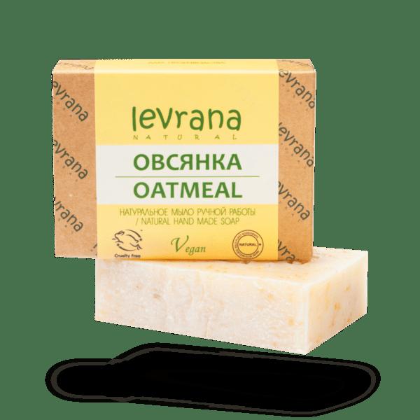 Натуральное мыло Овсянка LEVRANA