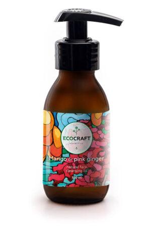 Масло гидрофильное для нормальной кожи Манго и розовый имбирь ECOCRAFT