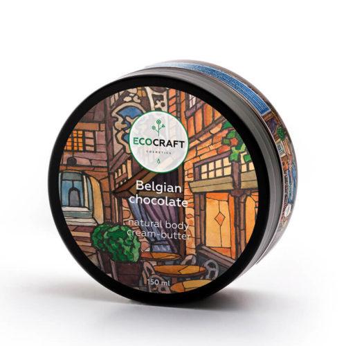Крем-масло для тела Бельгийский шоколад ECOCRAFT