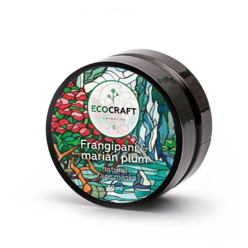 Маска для глубокого увлажнения кожи лица Франжипани и марианская слива ECOCRAFT