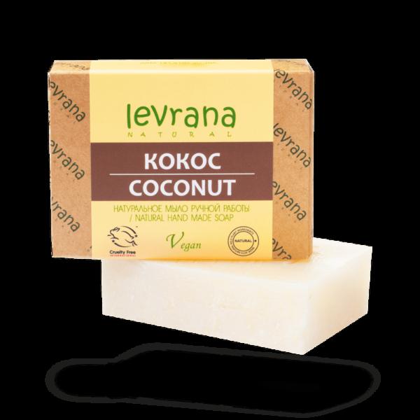 Натуральное мыло Кокос LEVRANA