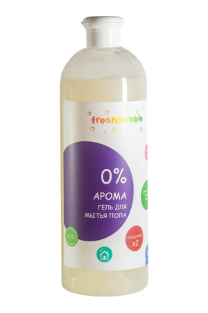 Гель для мытья полов без аромата FRESHBUBBLE, 1 л